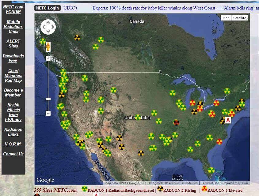 Apocalyptic Disaster is Here: We are Being Pelted With Radioactive Waste and Plutonium as Reports Surface from Side Effects of Fukushima!  Plus Another RADCON 5 Alert Hits the East Coast and Media Says Nothing…