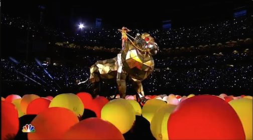 """Katy Perry's Illuminati Performance at Super Bowl XLIX Linked to Bruno Mars Message Last Year! """"Prepare for the Coming…"""" You Will Be Floored! Everything's Decoded and More…"""