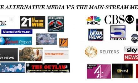 Mainstream Media Versus Alternative Media. Who's Better?