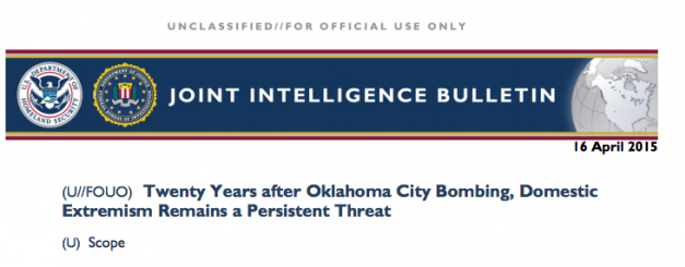 """Red Alert! DHS and FBI Issue a Threatening Bulletin, """"Homegrown Terrorism, Patriots"""" A Threat! The Truth Behind What's Really Going To Happen and Fast…"""
