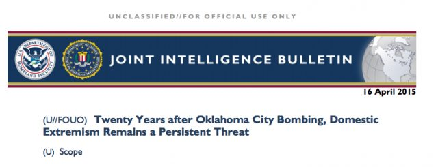 "Red Alert! DHS and FBI Issue a Threatening Bulletin, ""Homegrown Terrorism, Patriots"" A Threat! The Truth Behind What's Really Going To Happen and Fast…"