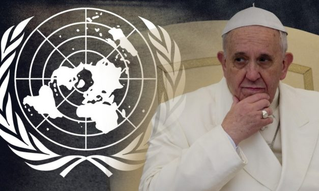 UN Launches Global Agenda 21 as Pope Calls Religions To Lead it! All Coinciding on the Blood Moon Tetrad Week