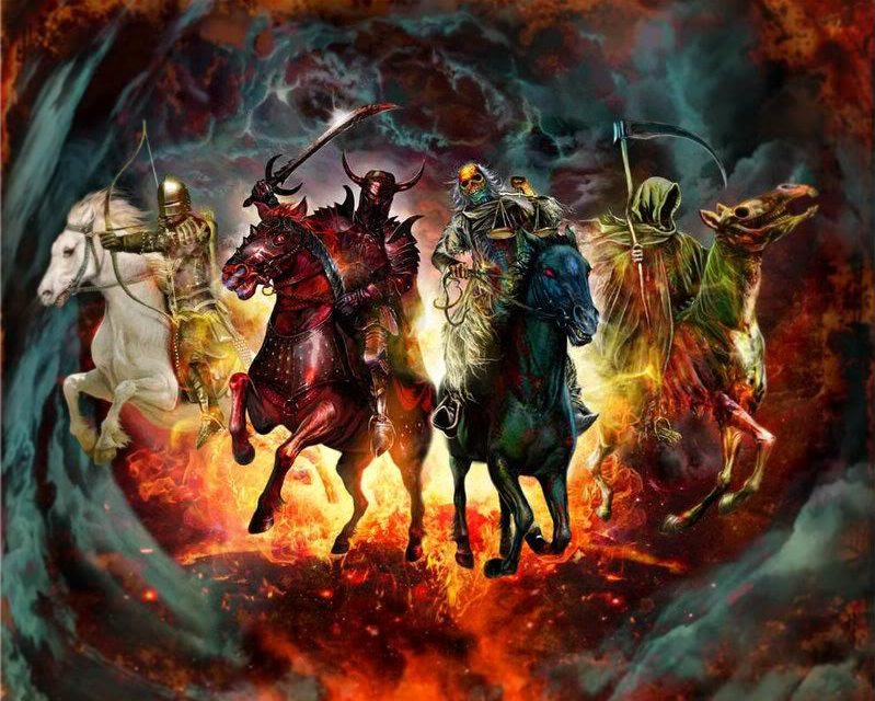 Are the Four Horsemen Of the Apocalypse Already Riding? You'll Be Surprised! Their Colors Have Deep Meaning and One You've Likely Not Heard!