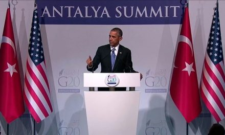 Paris Shooting Happens and BAM Obama Makes Chilling Announcement at G20! Agenda?