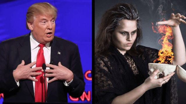 Midnight Madness Happening NOW! As Witches Cast Spell To Bind Trump—URGENT Call To Pray!
