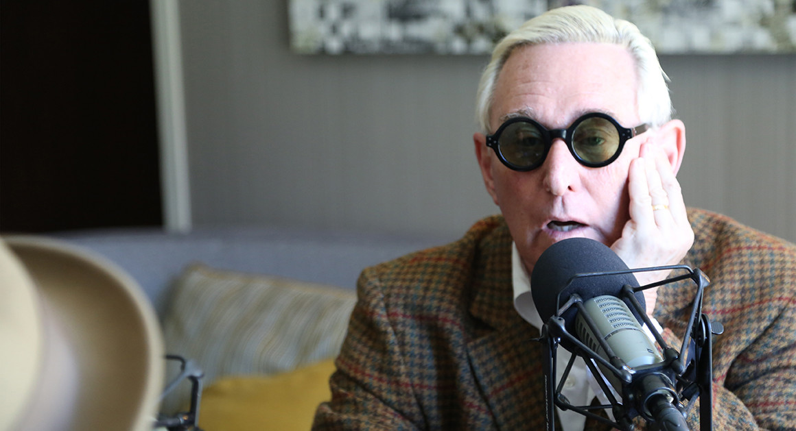 """What! Roger Stone Assassination Attempt TWO, Angelina Jolie Makes Bizarre Rant, NY Times """"Whites Raise Racists Kids"""""""