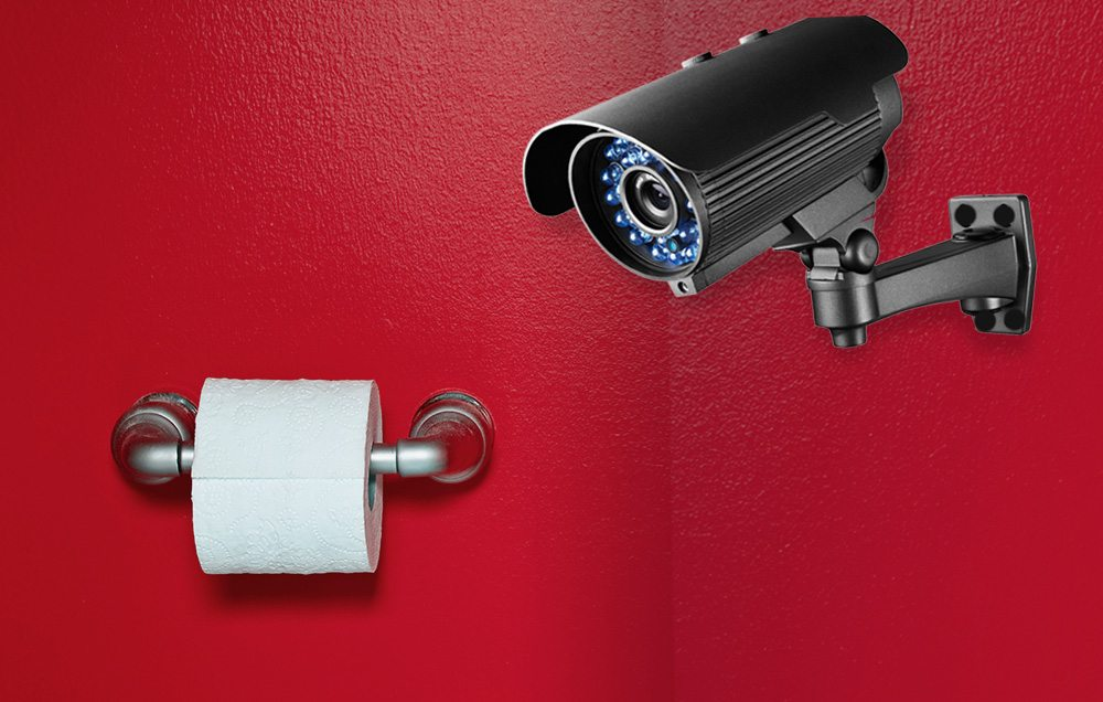 Wait, What?! Face-Scanners In PUBLIC TOILETS To Tackle TP Roll Theft—OH THIS IS TOO MUCH!