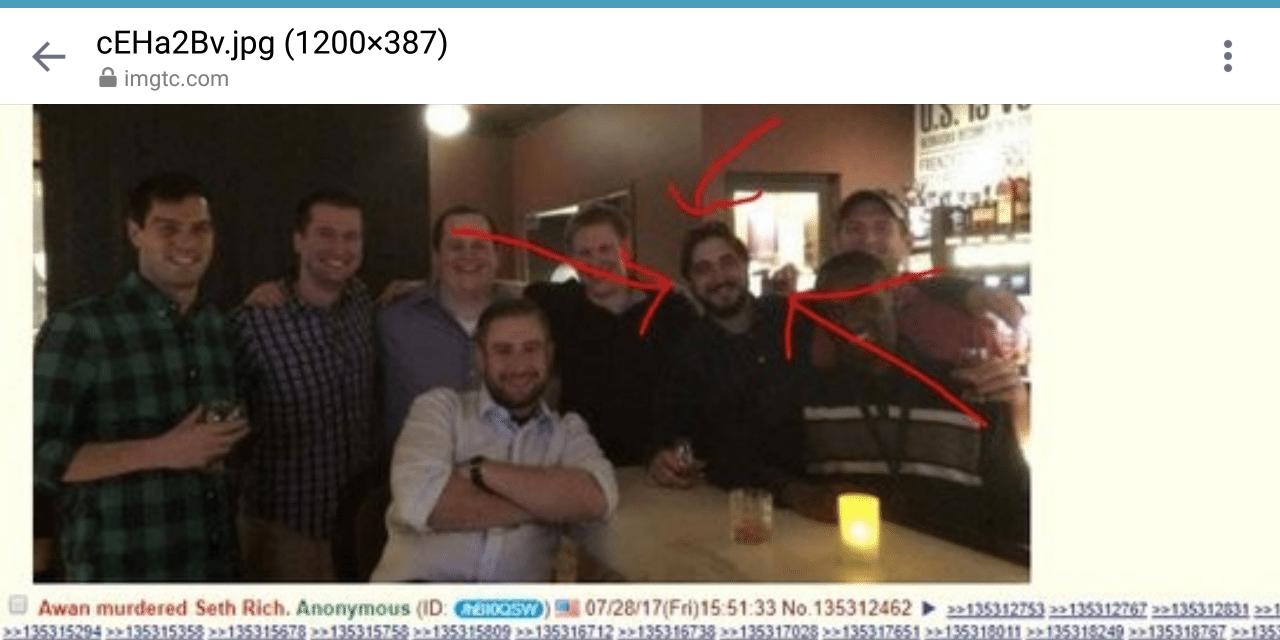 BREAKING: Did Awan Murder Seth Rich…? Anonymous Says So! Disturbing Photo Rises…