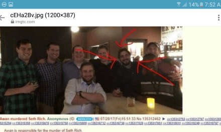 BREAKING: Did Awan Murder Seth Rich…? Anonymous Says So! Disturbing Photo Rises…