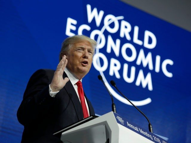 Trump Knocks The Globalists Out Cold—You Won't Believe What He Said At NWO Davos—He Silenced The Room