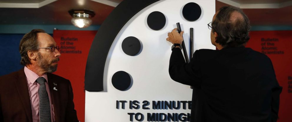 Everyone PANIC!? Scientists Set Clock To 2 Minutes To Midnight But WAIT Until You Hear Why…