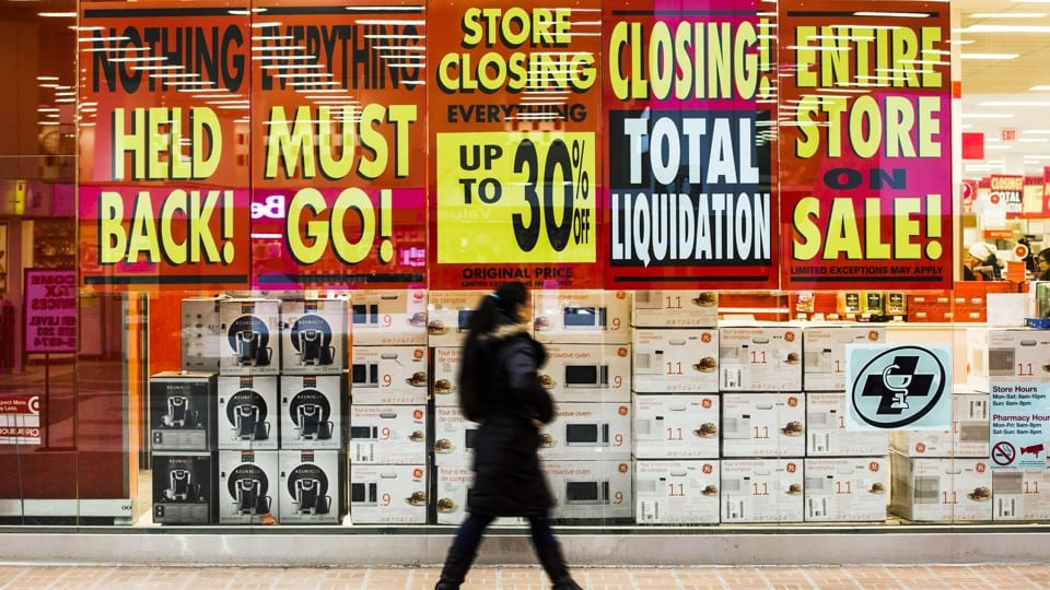 77 Million Sq.Ft. Of Retail Space GONE: The Retail Apocalypse Is Out Of Control