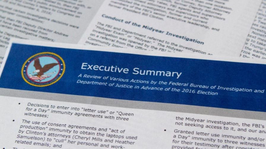 Comey, Strzok, FBI Agents Plotted Treason Against Trump—Hidden Details in IG Report Exposed