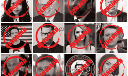 BANG! List Of Patriots Targeted For Online Removal Now Made Public—Report Tells All