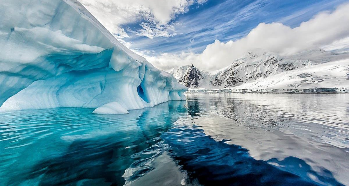 What Just Mysteriously Rose Out Of Antarctica?