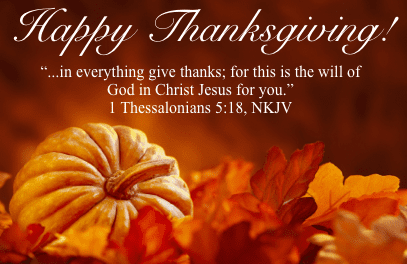Happy Thanksgiving! A Personal Message From Lisa Haven…