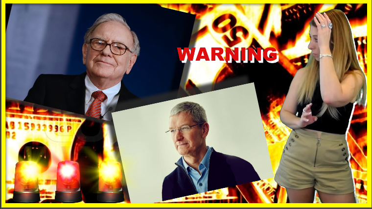 Is Warren Buffett Warning Us About Something and Why Is Tim Cook Dumping His Apple Stock?