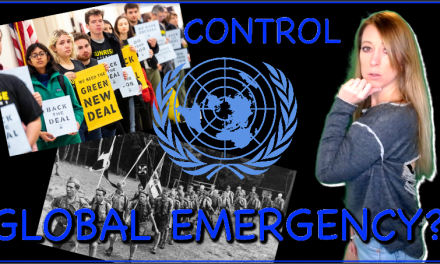 Global Emergency Declared: Shut-up or Be Silenced! UN Invasion, Youth Mobilized & America Conforms