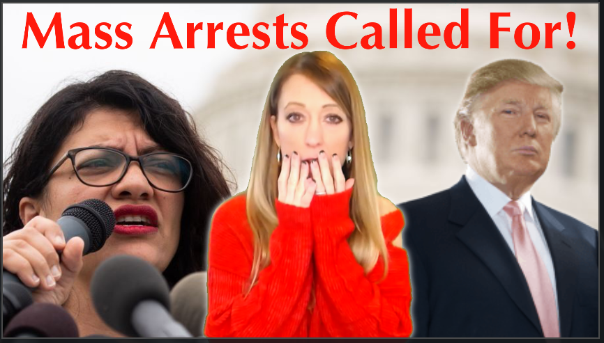 Rashida Tlaib Calls For Mass Political Arrests, Democrats Comply By Immediately Doing This…