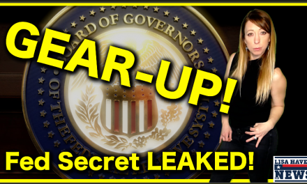 GEAR-UP! Economic Insider Reveals 2020 Fed Secret Privy Only To Them—Something's Up! Game Over?