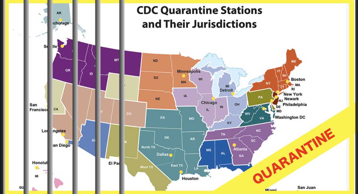 U.S. Quarantine Hubs, San Francisco Activates 'Coronavirus Centers', CDC Issues ALERT!