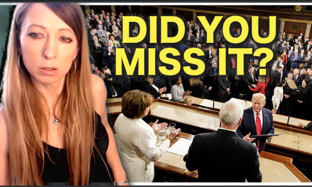 Did You Miss It? One Important Thing Happened at the State of The Union, Did You See it?