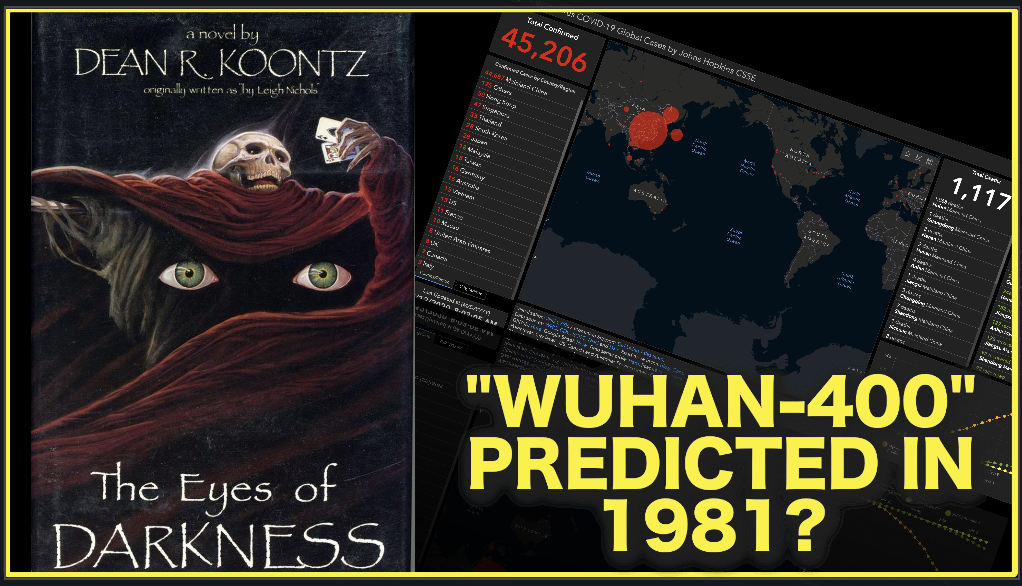 """1981 Novel Eerily Predicts """"Wuhan-400""""…How Did They Know?"""
