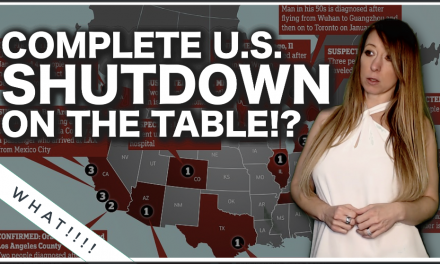"RED-ALERT: ""Complete U.S. Shutdown On The Table?"" Says Fauci! 100K Cases In One State?"