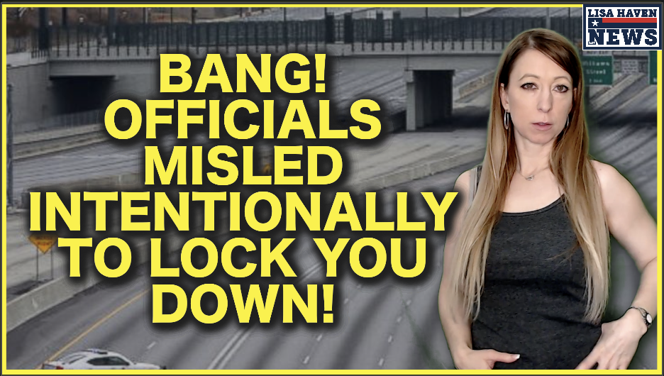 BANG! Officials Misled Intentionally To Lock You Down! Democrat Activists Behind It!
