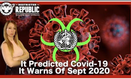 Did WHO Report Predict Covid-19 In Sept. 2019? It's Next Prediction is Sept. 2020…Fauci a Board Member