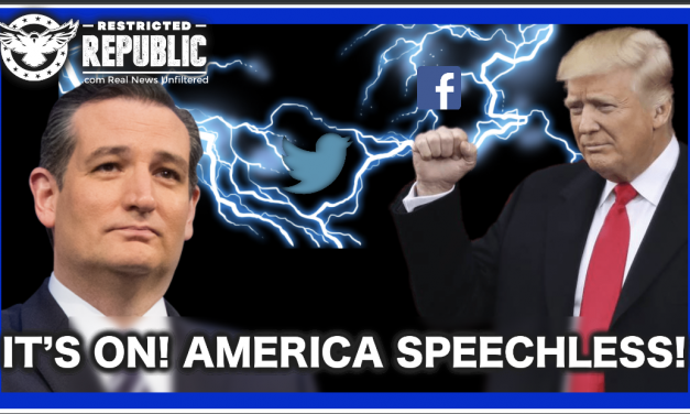 It's On!  Trump & Cruz Initiate Simultaneous Offensive Set To Shatter The Tech Titans…Jail?