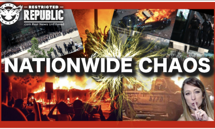 "Nationwide Chaos: White House Besieged, Burning Cities, Riots Manipulated By ""Forces?"""