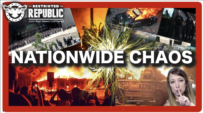 """Nationwide Chaos: White House Besieged, Burning Cities, Riots Manipulated By """"Forces?"""""""