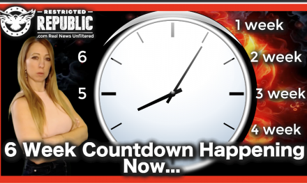 A Six Week Countdown Has Begun…You Won't Believe To What…
