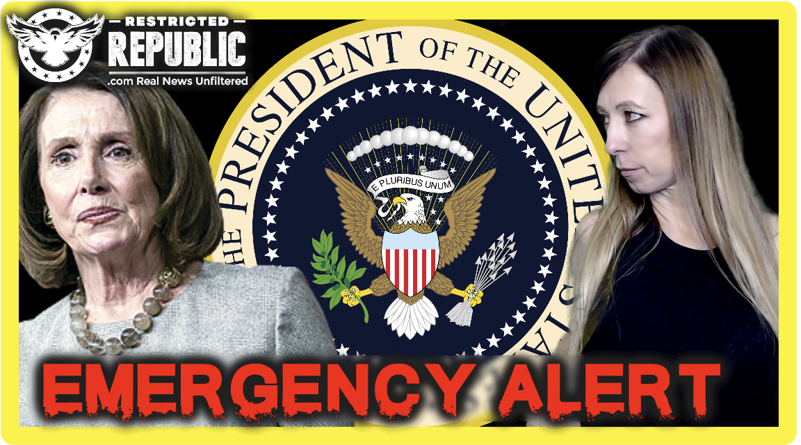 EMERGENCY: Pelosi Says She's Removing Trump & Making Herself President Under COG Martial Law
