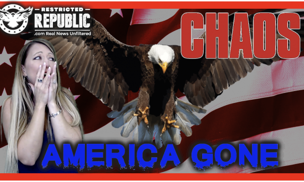 Warning! You're In Danger! There Isn't Going To Be An America! We're Gone…Blacklisted!