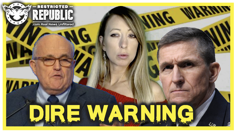 "Flynn and Giuliani Issue a Dire Warning to America! as Trump Warns ""He May Not Be Seen for a While"""