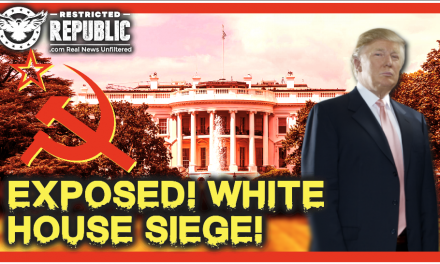 RED ALERT! There's a Plan to Siege The White House Starting Next Month & I Intend To Expose It!