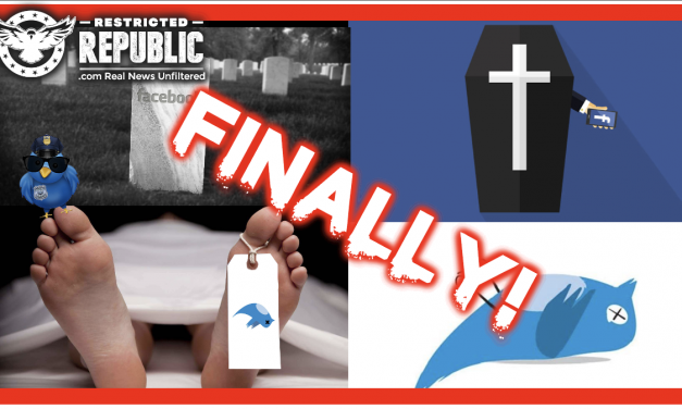 FINALLY! Congress Just Killed Facebook & Twitter—It's What We've Been Waiting For! Time To Pay The Price!