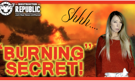 """Burning"" Secret! How Have They Kept This Hidden So Long! There's More To The Story With These Fires!"