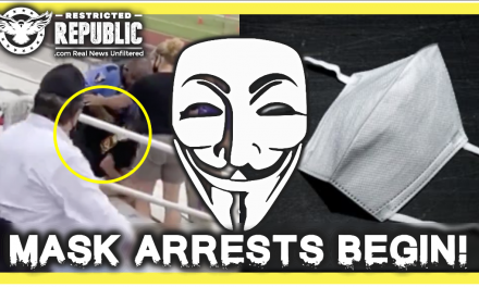 It's In America: People Arrested For Not Wearing Masks & Signing To Jesus! Browshirts Revived!
