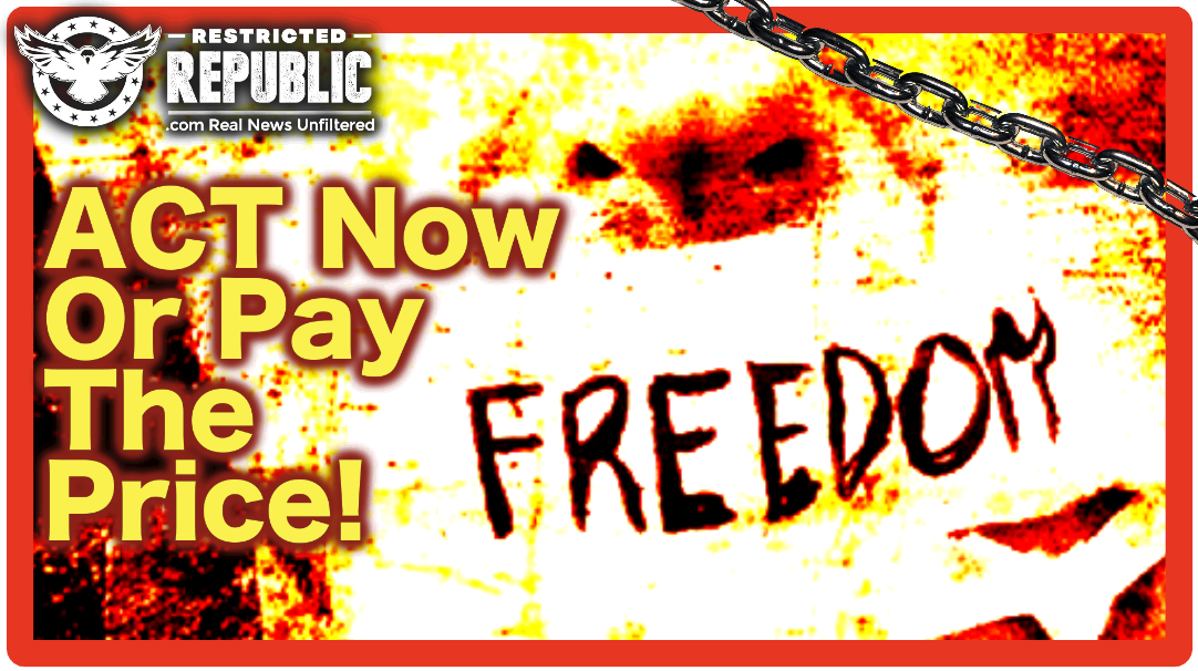 Act NOW Or Pay The Price! Either We Fall Or We Prevail…Here's What You Can Do To Save America!