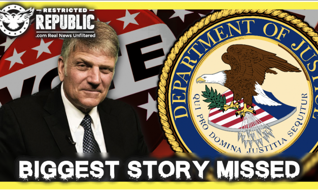 The Bigger Story Has Been Missed! What The DOJ Just Did Will Rattle You & Franklin Graham Issues Oct. Alert!