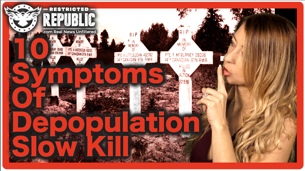 Are You Infected? 10 Symptoms Caused by Depopulation Slow Kill… Insider Speaks!