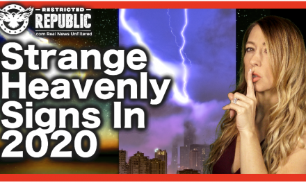 NOW THIS?! Multiple Strange 'Heavenly Signs' Appearing In 2020 & They're a Recipe For The Apocalypse!