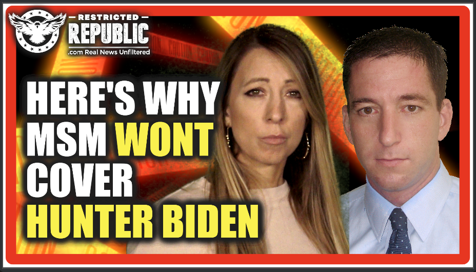 Glenn Greenwald Just Dropped a Bomb! Exposes Why Media WILL NOT Cover Hunter Biden…
