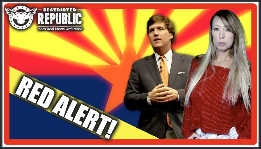 Tucker Carlson Sounds The Alarm! Election Meddling Powder Keg & Somethings WRONG In Arizona