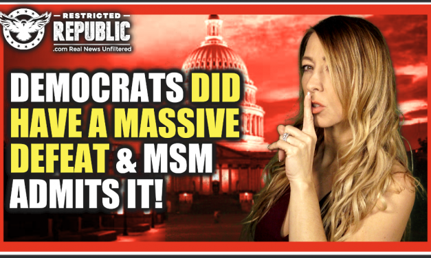 Democrats Did Have a Massive Defeat Nationwide & MSM Admits It, Dems In Tears! Here's Why…
