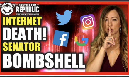 This Should Literally TERRIFY You! Internet DEATH Has Arrived! Senator Begs For More Conservative Censorship
