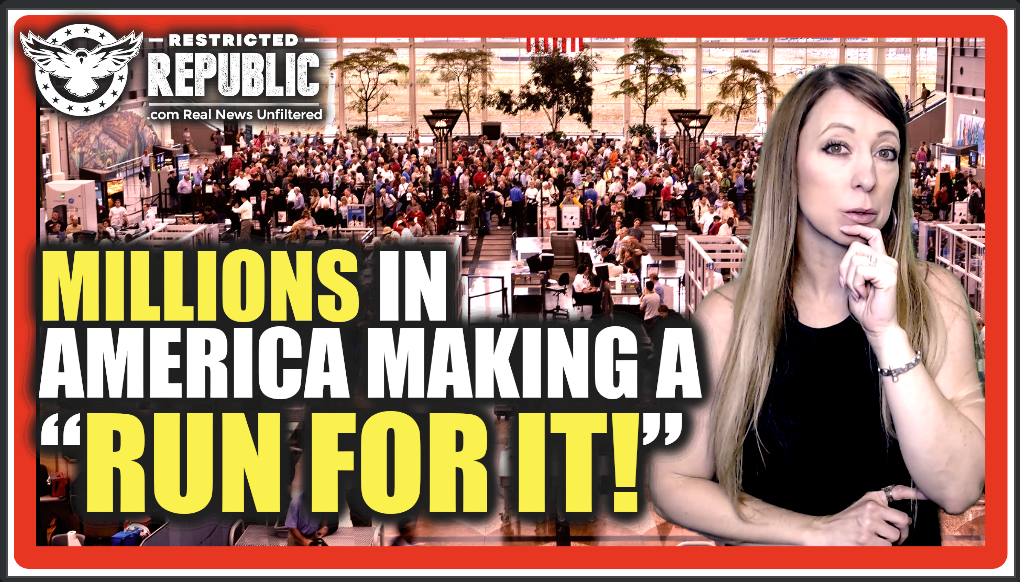 """Millions In America Making a """"Run For It!"""" Mass Exodus Happening & Here's Why…What Do They Know?"""